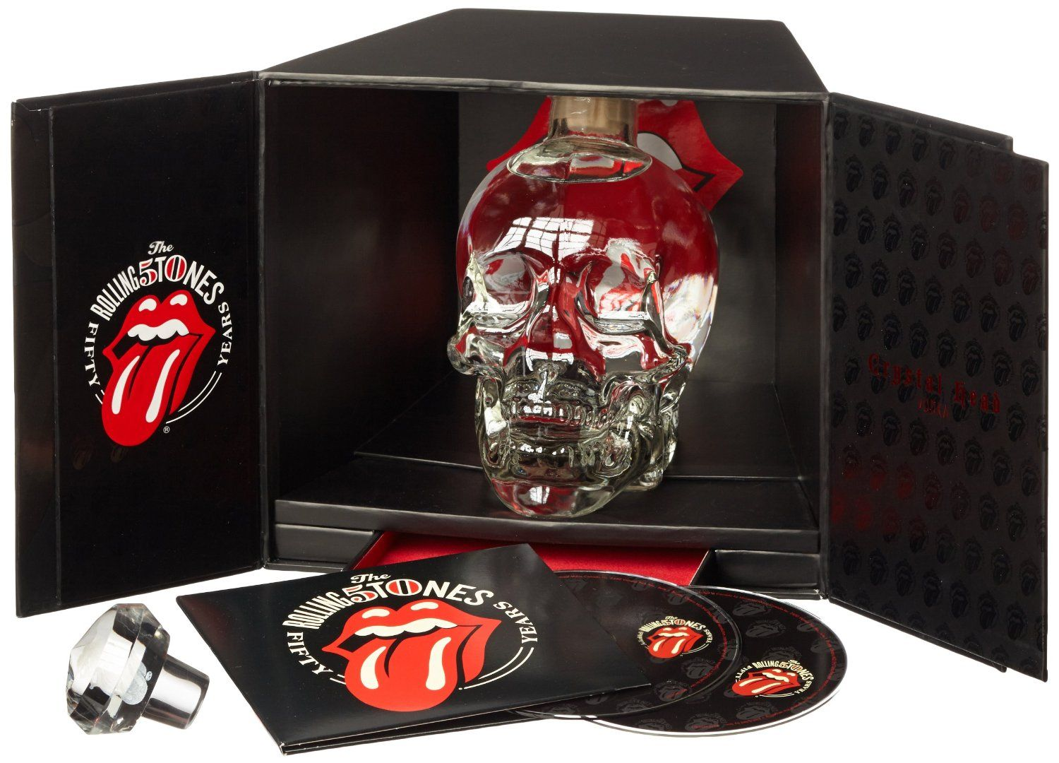 Crystal Head Wodka Rolling Stones 50th Anniversary Limitierte ...