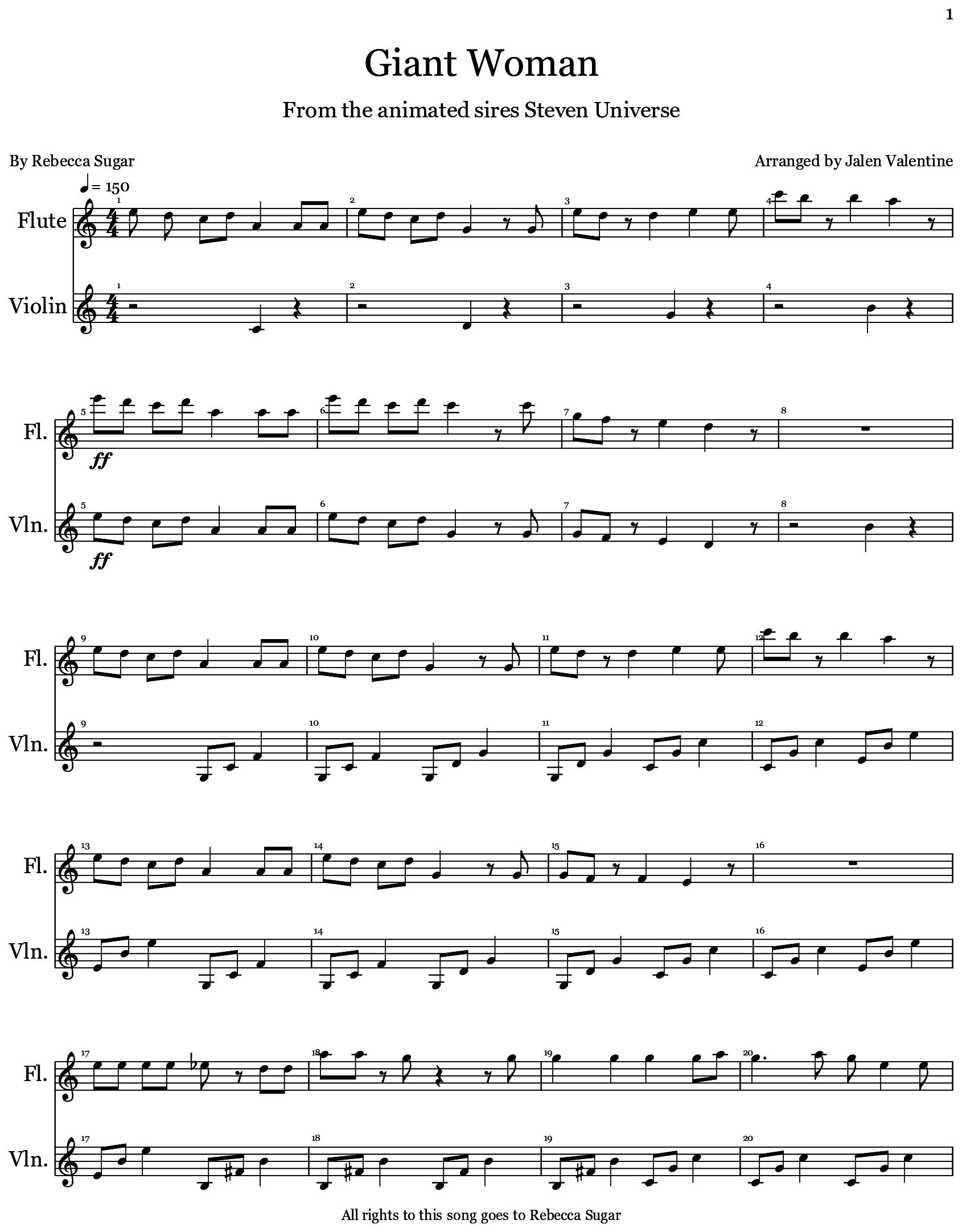 Giant woman written by jalen valentine flat music musicscore giant woman written by jalen valentine flat music musicscore score hexwebz Images