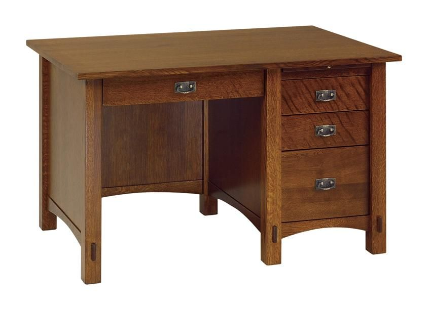 mission style solid oak office computer. Amish Lucern Pencil Drawer Mini Desk This Mission Style Features A 1\ Solid Oak Office Computer M