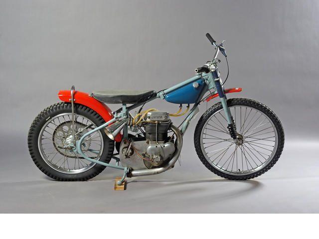 Speedway Motorcycle Racing Bikes: C.1972 Jawa 498cc DT500 Speedway Motorcycle