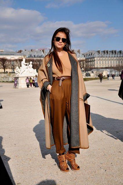 I love this past-season look (mostly Chloe) worn by Miroslava Duma.