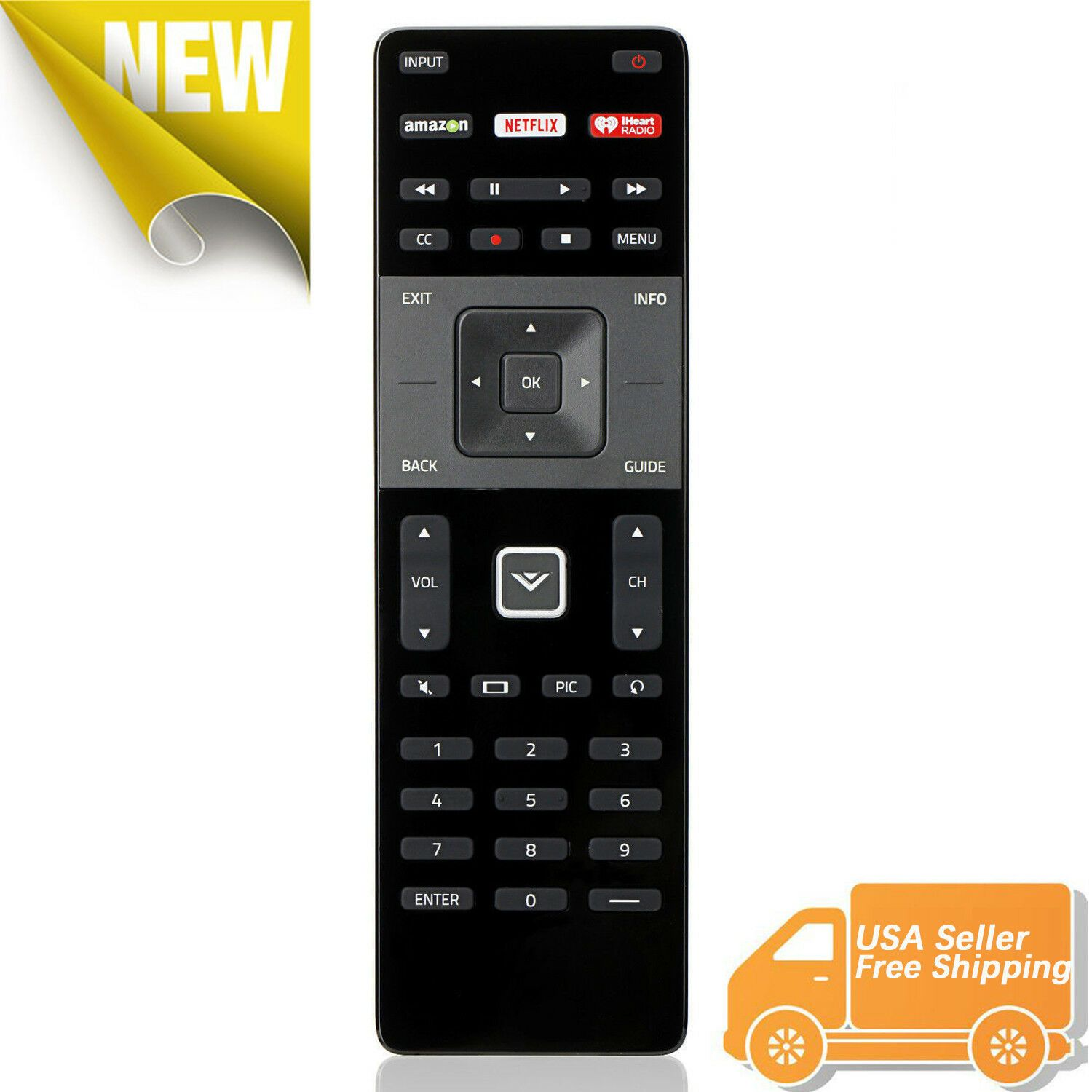 Details about XRT122 for Smart TV Vizio Remote Control w