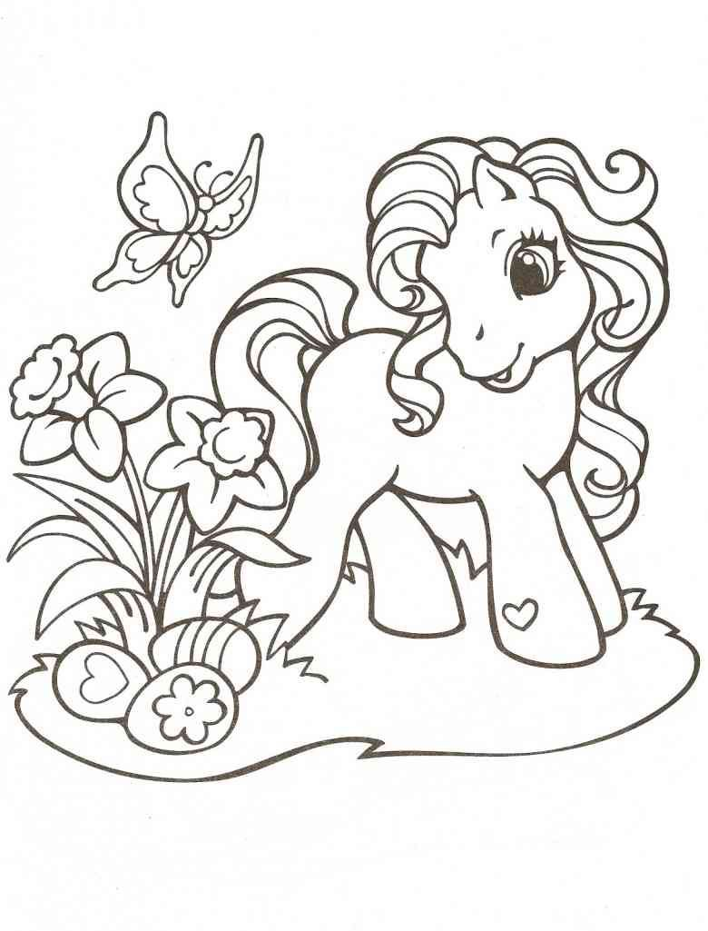 My Little Pony Coloring Page My Little Pony Coloring Vintage My Little Pony Horse Coloring Pages [ 1428 x 1020 Pixel ]