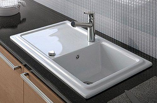6 Reasons Why You Need To Get A Ceramic Sink Kitchen Backsplash Designs White Ceramic Kitchen Sink Kitchen Sink Lighting