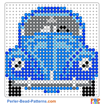 Volkswagen Beetle perler bead pattern. Download a great collection ...