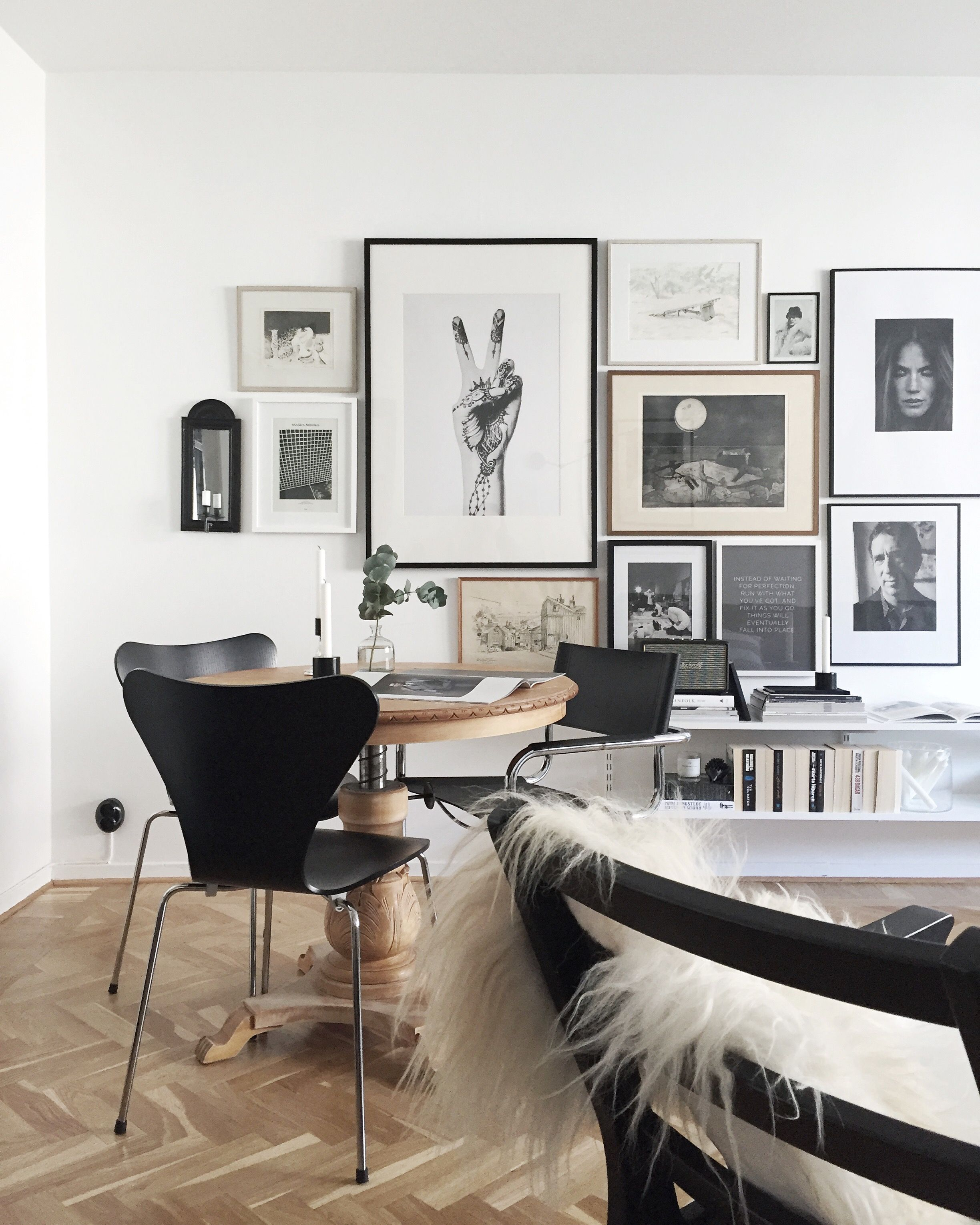 22 Scandinavian Home Office Designs Decorating Ideas: Elegant Scandinavian Style Interior
