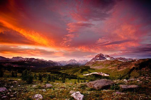 Healy Pass Banff National Park, Alberta, Canada