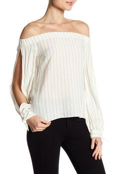 f91509ba022 Bailey 44 - Off-the-Shoulder Split Sleeve Top