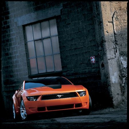 Giugiaro Ford Mustang in action