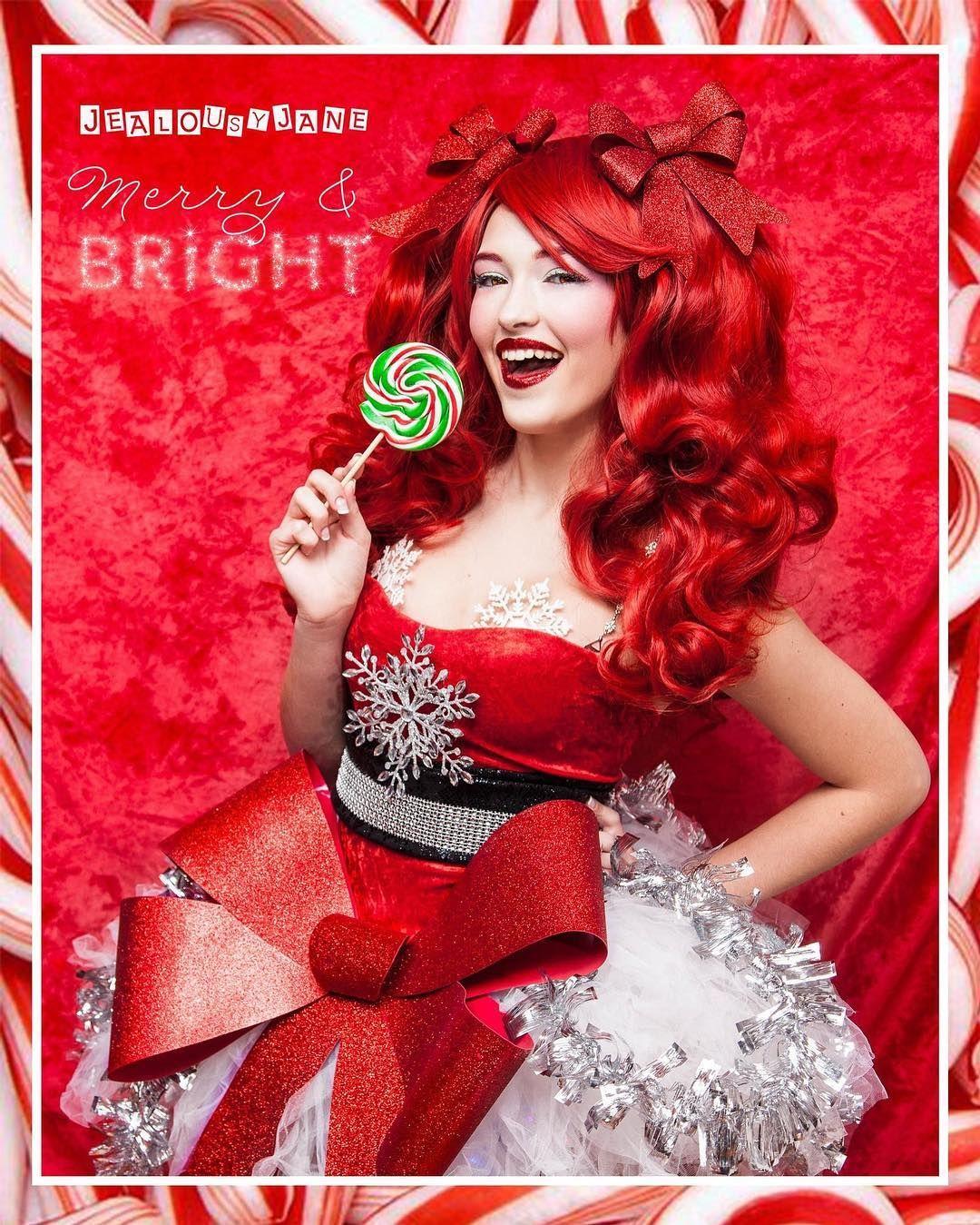 #jealousyjane #candycane #altmodel @jealousyjane #ginger #peppermint #ladygingerbread @dakotabruton.model