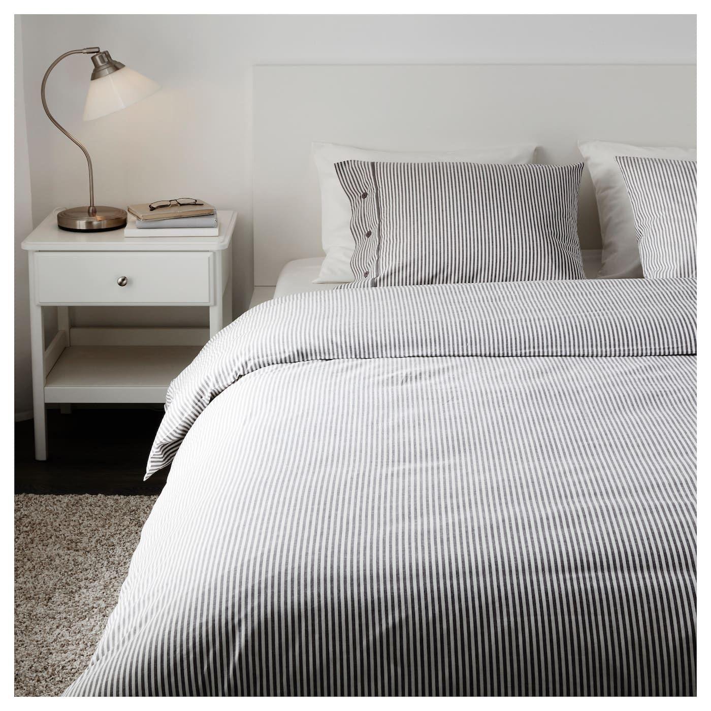 Ikea Nyponros Duvet Cover And Pillowcase S Ikea Duvet Cover Ikea Duvet Striped Bed Sheets