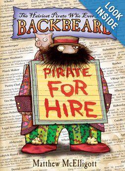 Backbeard: Pirate for Hire: Matthew McElligott: 9780802722652: Amazon.com: Books