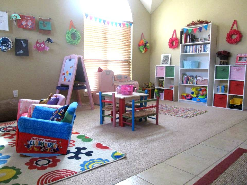 our play room ikea lusy blom rug step2 easel kidkraft