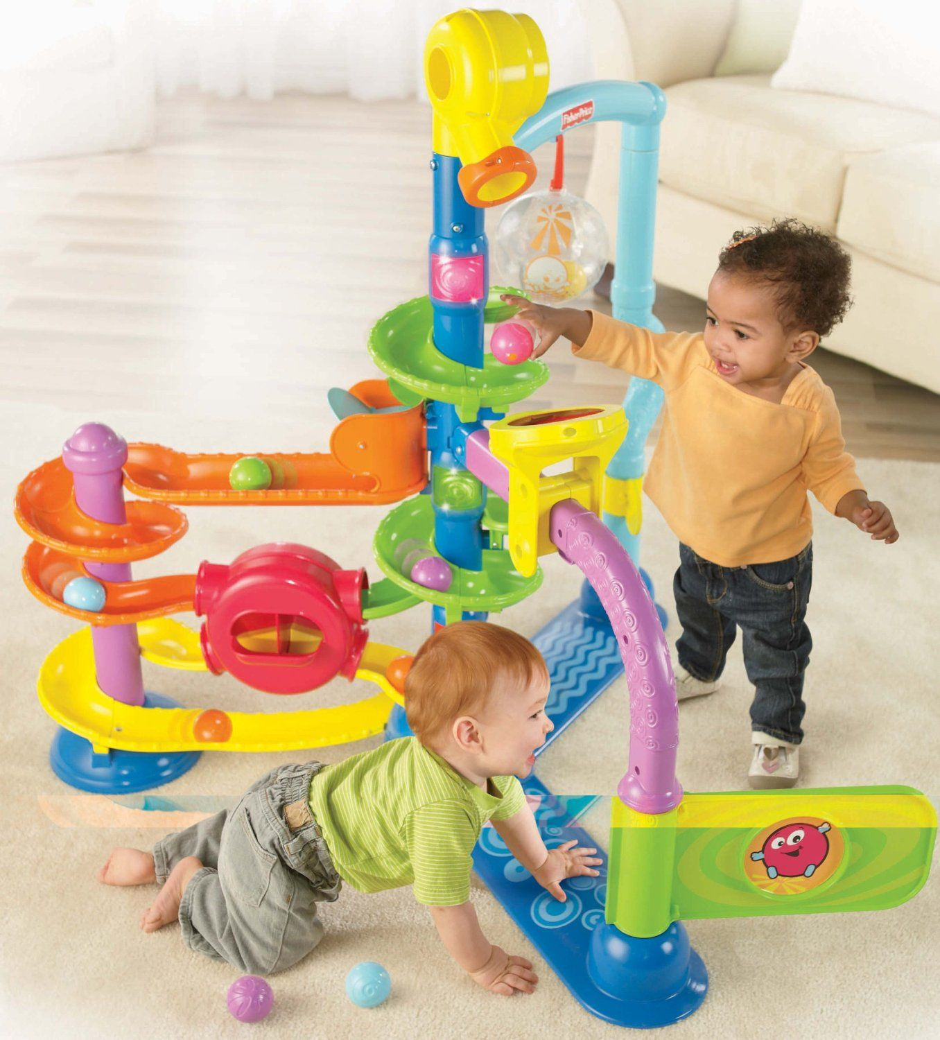 There is so much to do and see in the Fisher Price Ballapalooza