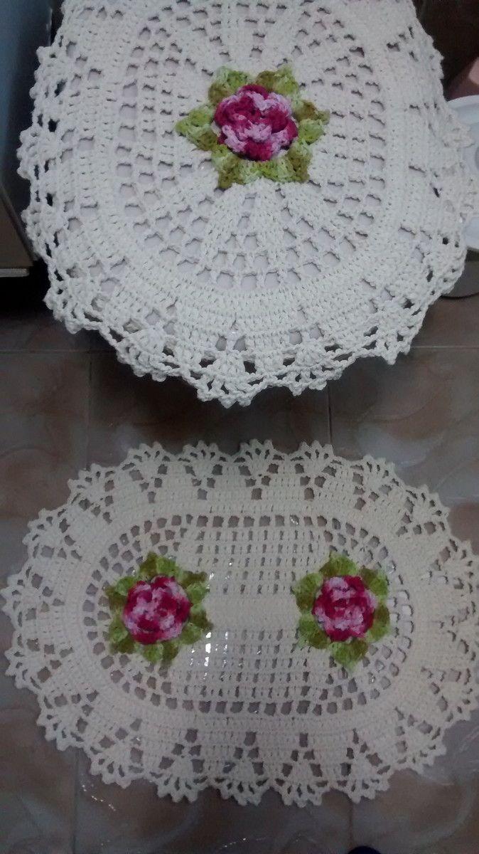 Jogo De Banheiro Flores No Elo7 Cantinho Da Artes 503d9c Jogos De Banheiro Jogos De Banheiro Croche Desenhos De Croche