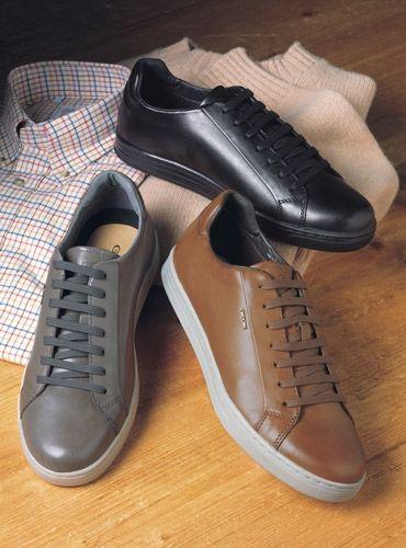 patinar Escritura lona  Geox Leather Sneakers | Zapatos hombre, Zapatos casuales, Calzado hombre