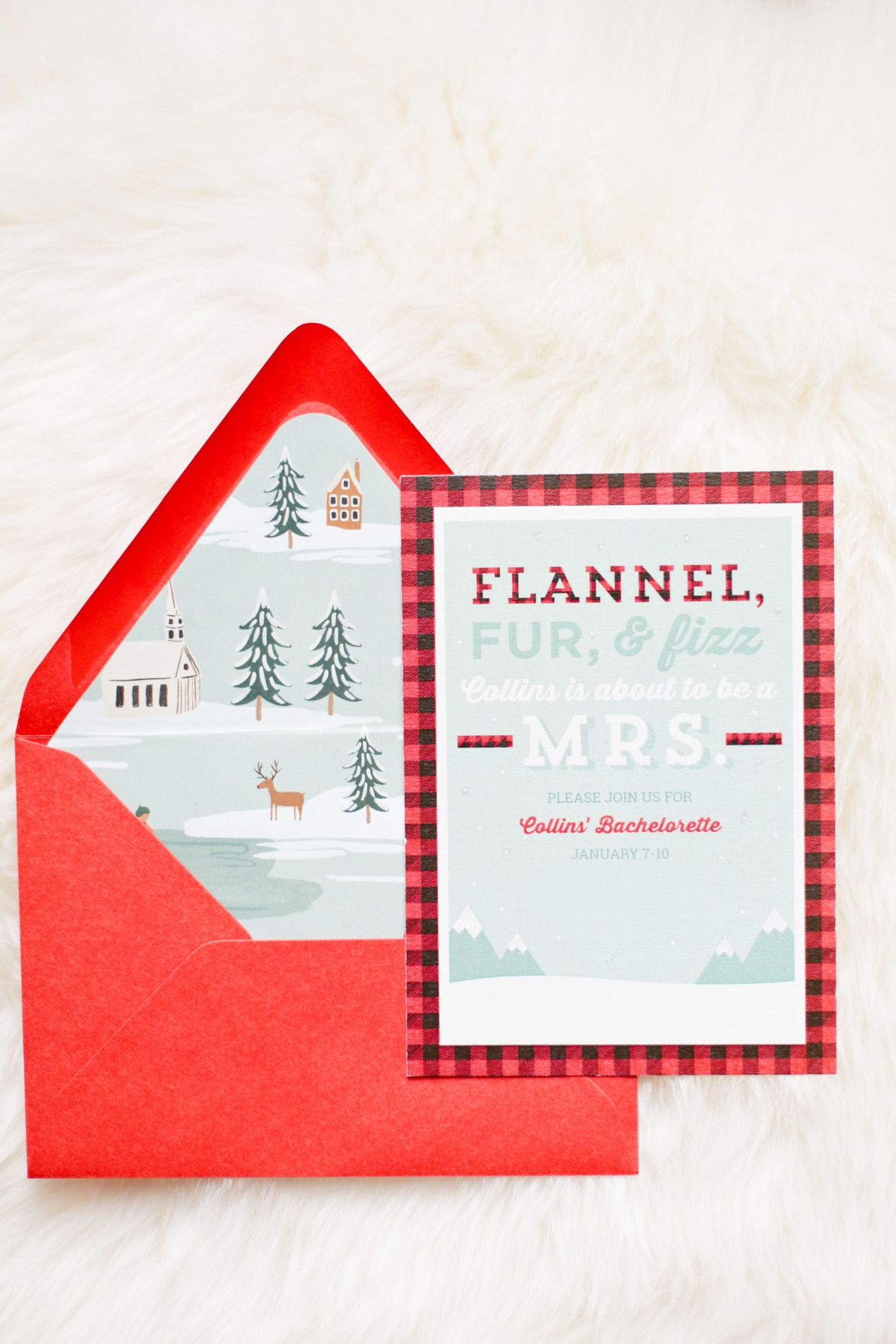 Cozy Flannel Themed Bachelorette Weekend in the Mountains   Girls ...