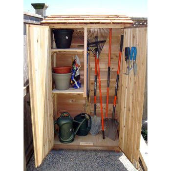 Costco Garden Chalet Wood Storage Shed Patio Furniture Shed