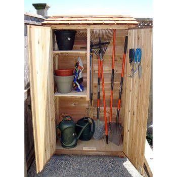Costco Garden Chalet Wood Storage Shed Med Bilder Tradgard Odling Tradgard