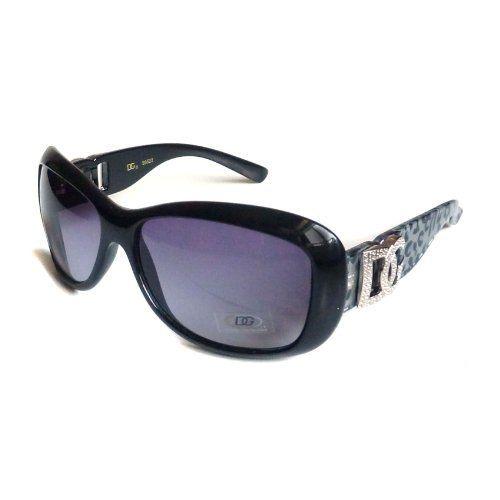 ea8be4026377 DG Eyewear Women s RETRO Designer Style Sunglasses Shades BLACK GRAY UV400  by DG Eyewear.  5.50