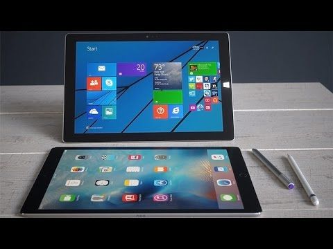iPad Pro vs. Surface Pro 4 Revies: Which Tablet Wins