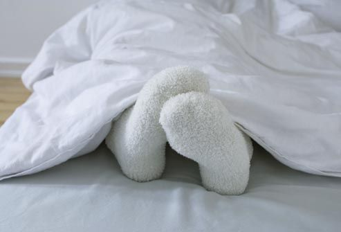 True love is when someone warms up your freezing cold feet at night.