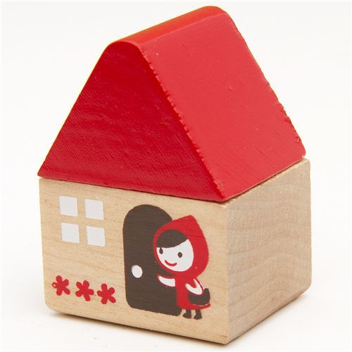 Little Red Riding Hood Container