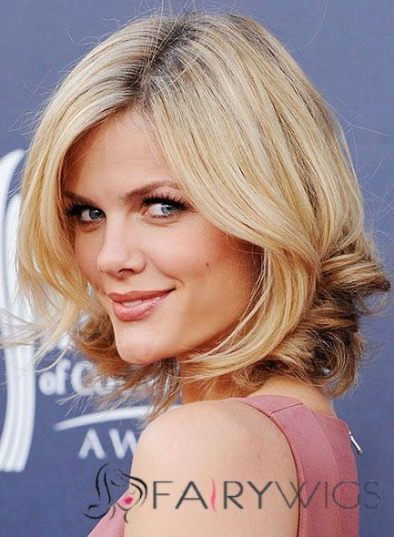 New Hairstyles For Women Amusing Cheap Asian Short Blonde Full Lace Celebrity Hairstyle  Cheap