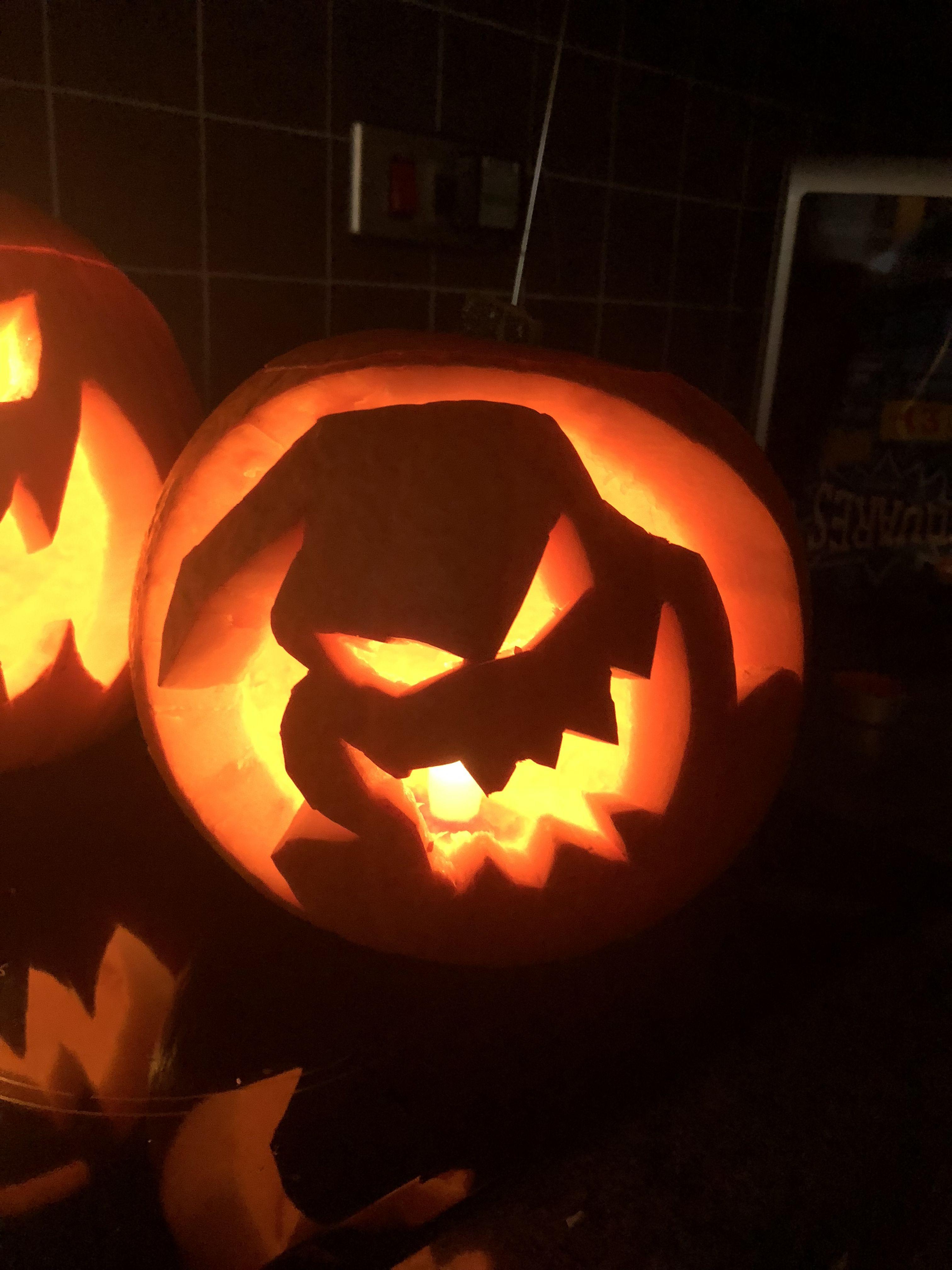 The nightmare before Christmas character pumpkins  JackSkellington   PumpkinKing  OogieBoogie de9564f68e4e