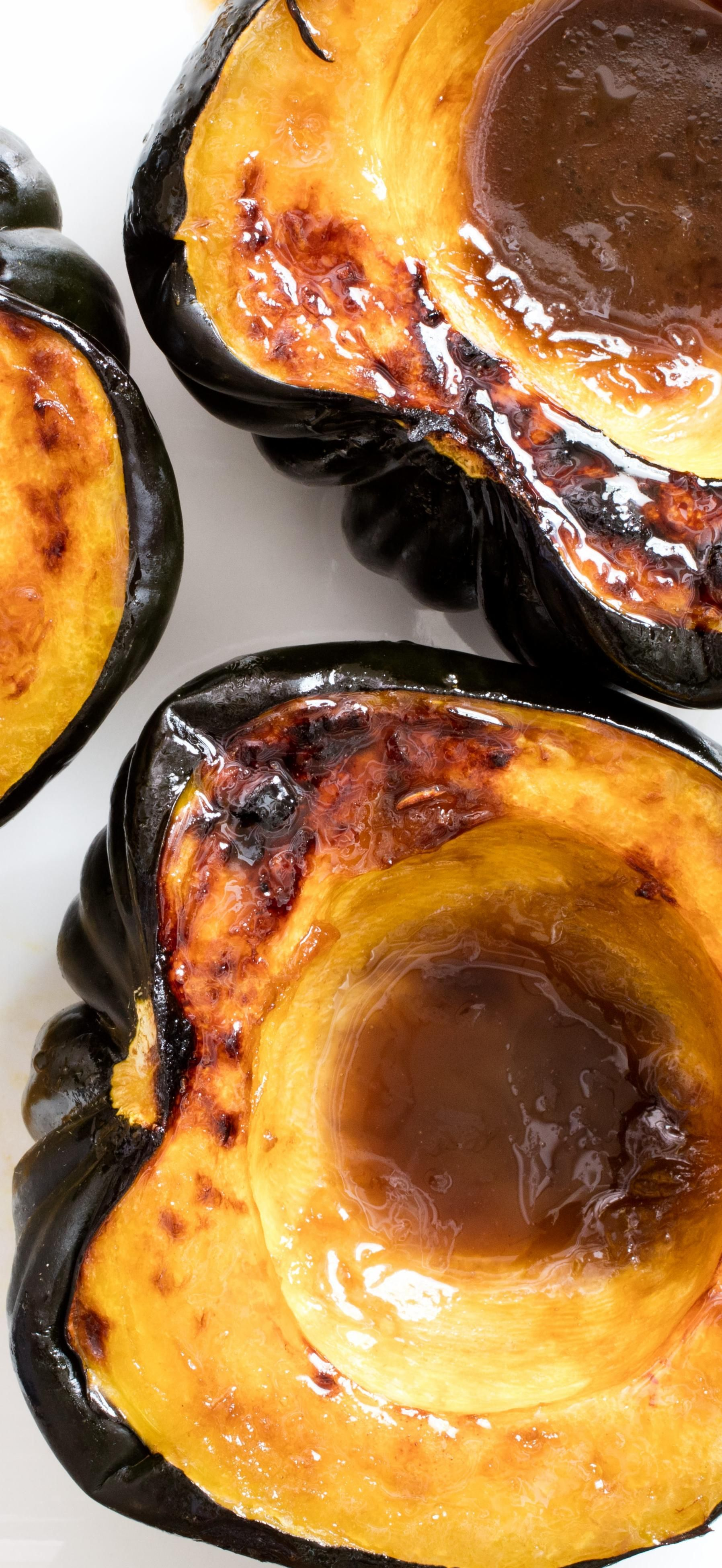 Acorn Squash With Brown Sugar It Turns Out One Of The Simplest