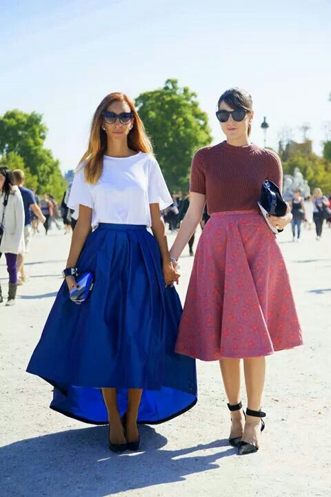 I'm in love with these skirts!