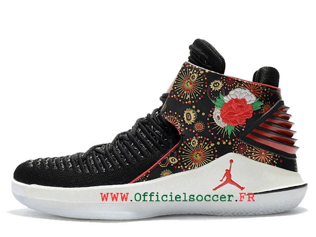 2018 Air-Jordan-32-CNY-Chaussures Nike Jordan Pour Homme Noir-