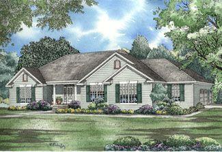 Ranch House Plan ID: chp-15159 - COOLhouseplans.com