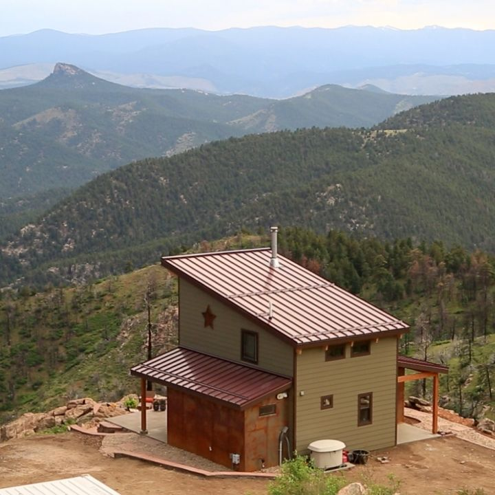 Tiny Home Designs: Did Somebody Say Colorado Tiny House With A View?