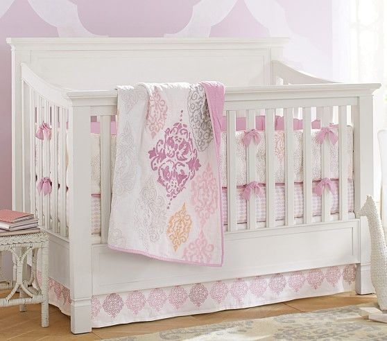 Larkin 4 In 1 Crib | Pottery Barn Kids