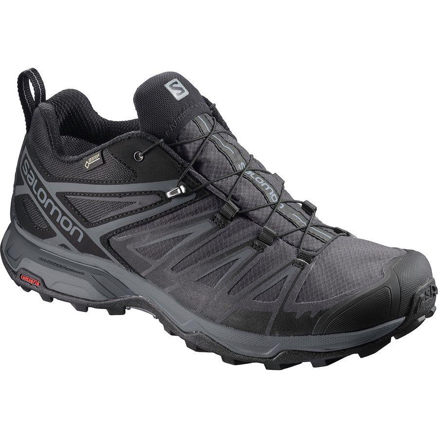 Salomon X Ultra 3 Gtx Hiking Shoe Men S Black Magnet Quiet Shade Spor Ayakabilar Spor Giyim Spor