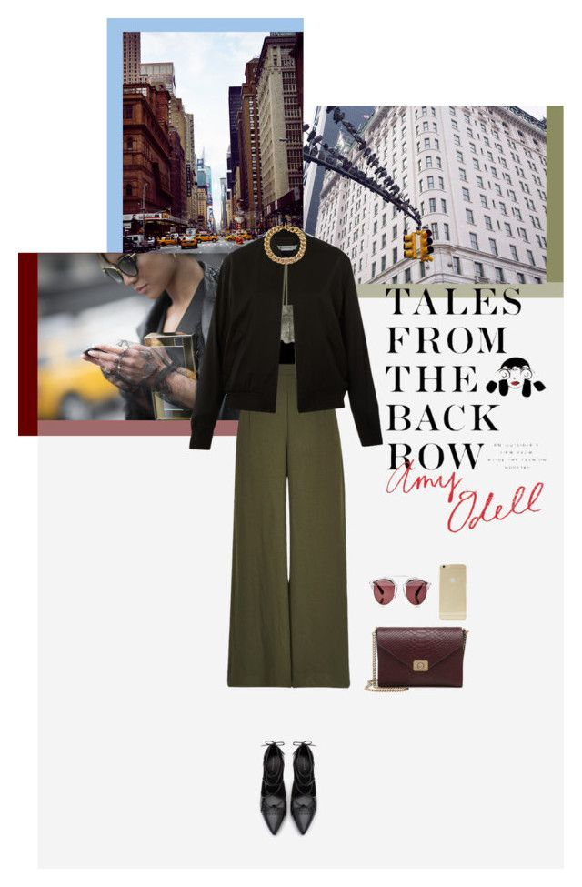 """""""Straight Outta NYFW"""" by toscabastasin ❤ liked on Polyvore featuring River Island, Wet Seal, T By Alexander Wang, Christian Dior, Zara, Mulberry, Sonix, Michael Kors, StreetStyle and talesfromthebackrow"""