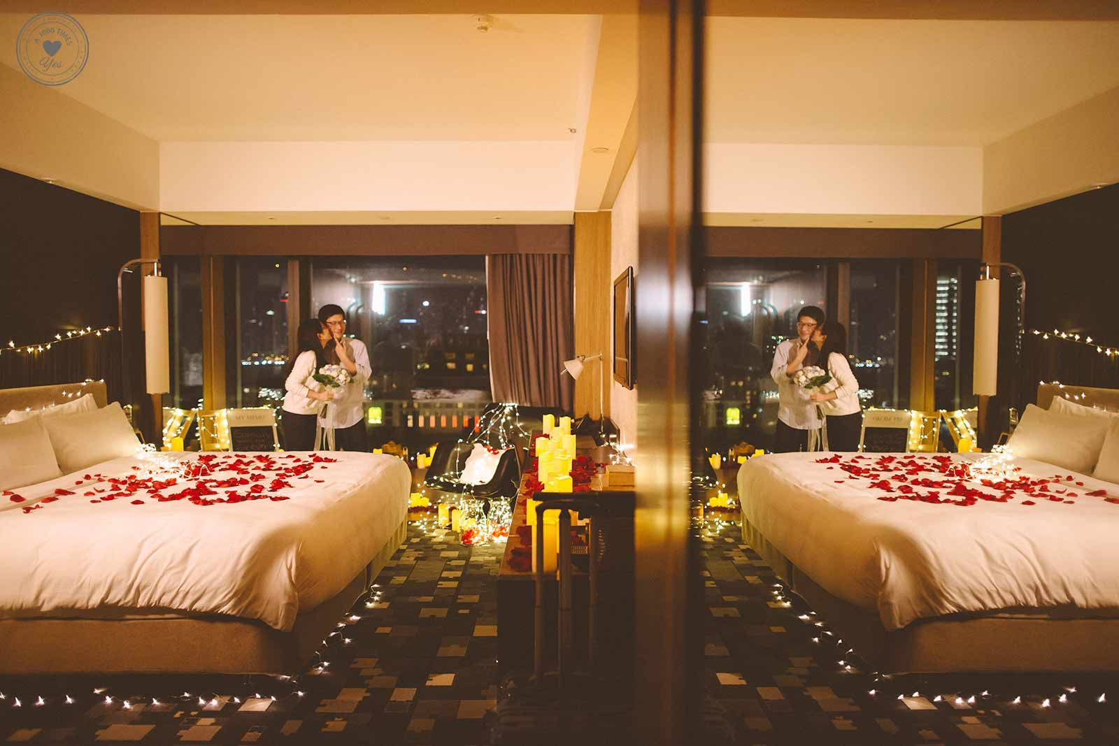 Romantic room with roses - Romantic Marriage Proposals Hong Kong Hotel Room Bower Of Bliss Proposing In Your Hotel