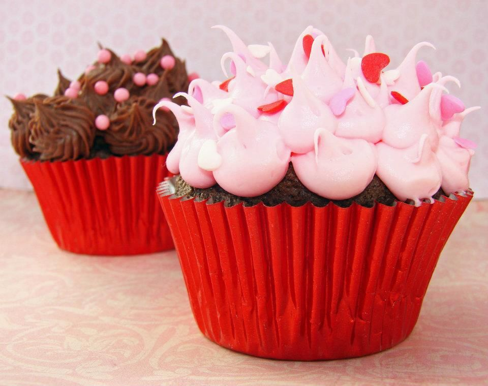 All Things Cupcake Cupcake Delivery Cupcake Cakes Valentine Day Cupcakes