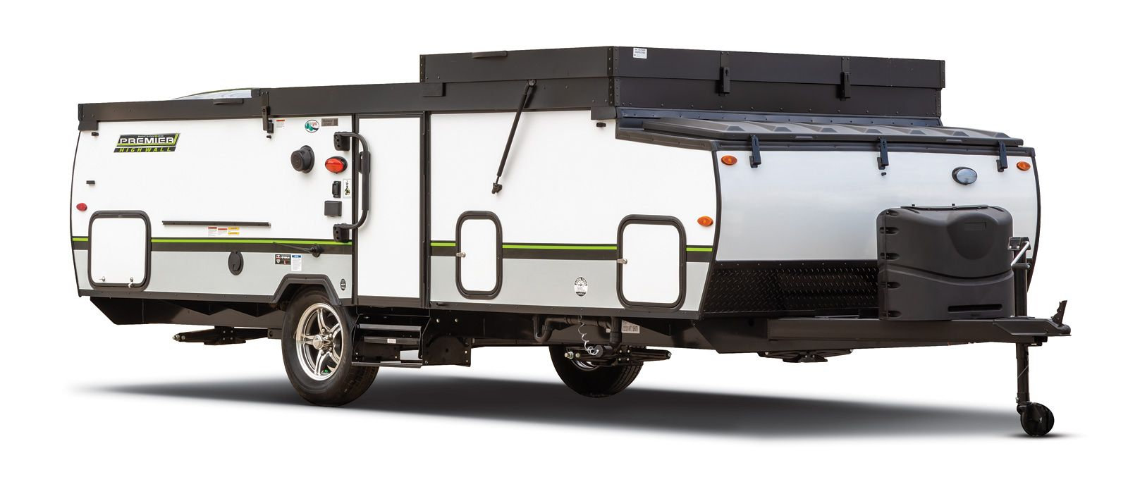 Rockwood Hard Side Pop Up Campers Folding Camping Trailers By