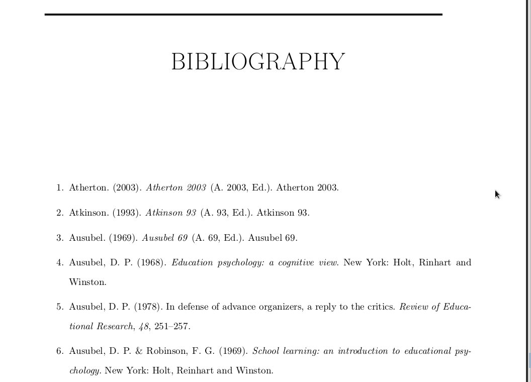 How Do You Do A Bibliography  Annotated Bibliography