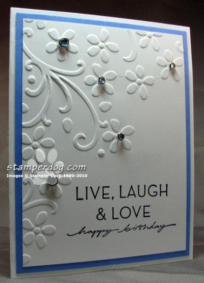 Stampin Up Birthday Card Ideas The Birthday Card I Designed For
