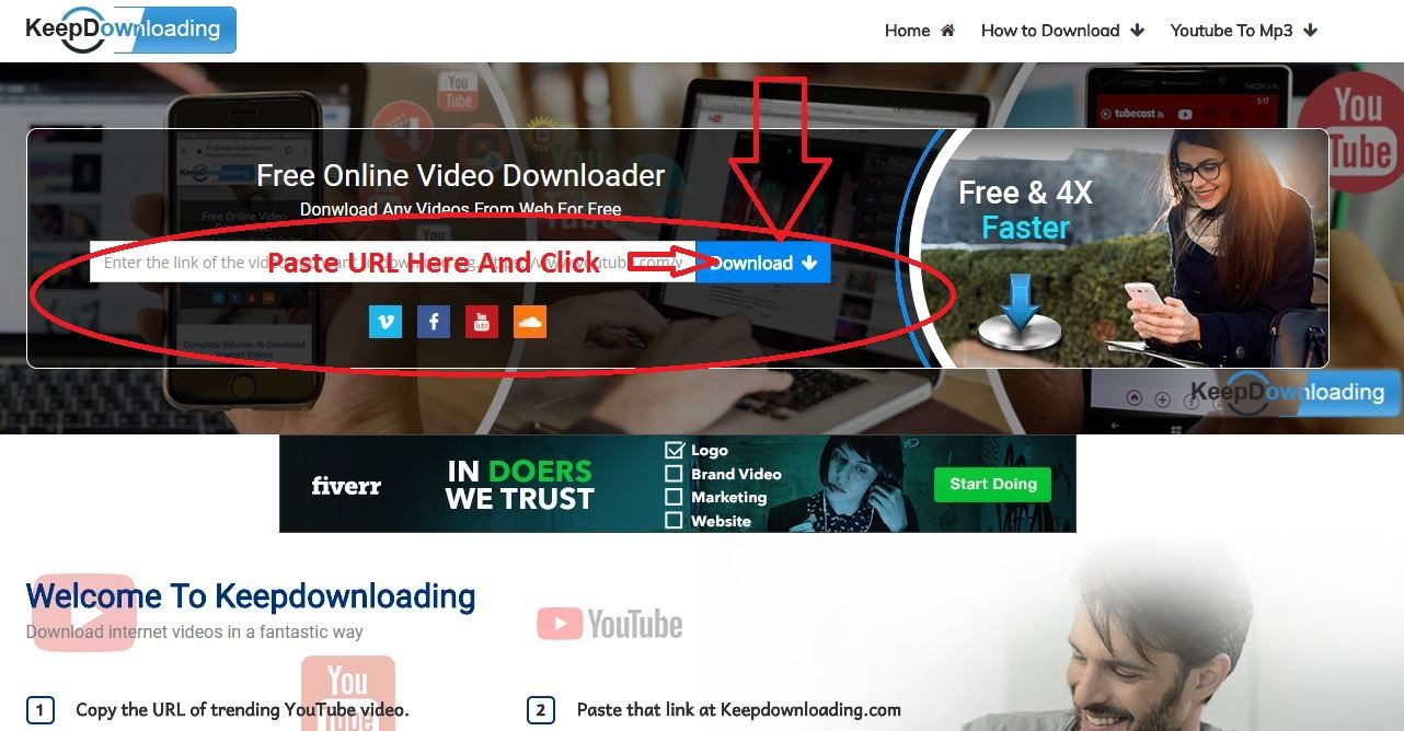 youtube video download online without link
