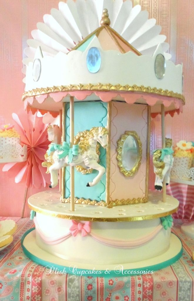 CAROUSEL PARTY- tons of ideas (rocking horse mobile, awning table ...