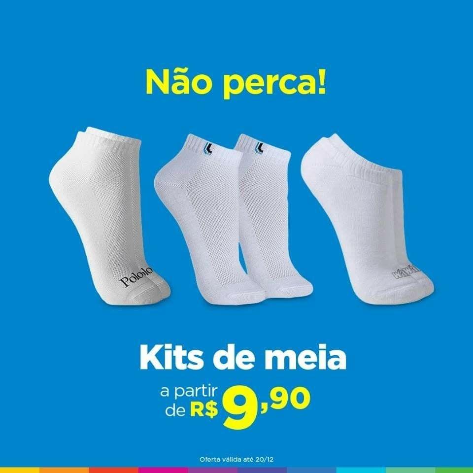 c87bb2e22 👞 Kit Com 9 Pares De Meia Cano Médio - Lupo G (cód. 676385100 ...