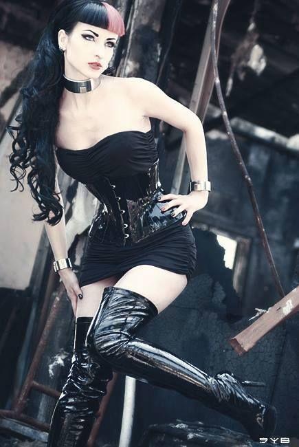 goth black girl