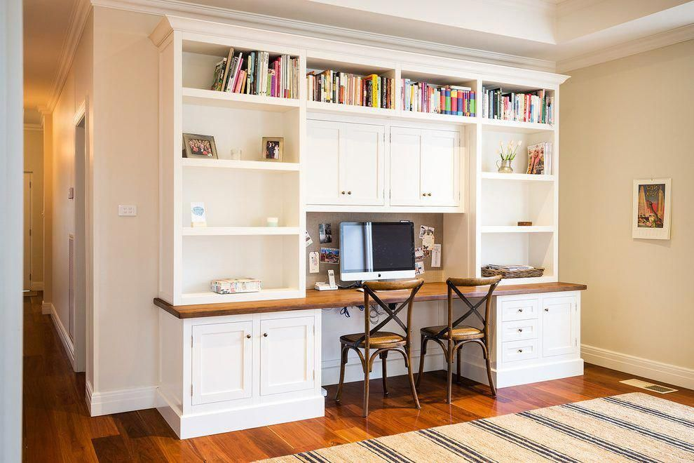 Melbourne Computer Desk Bookshelf With Traditional Bookcases Home