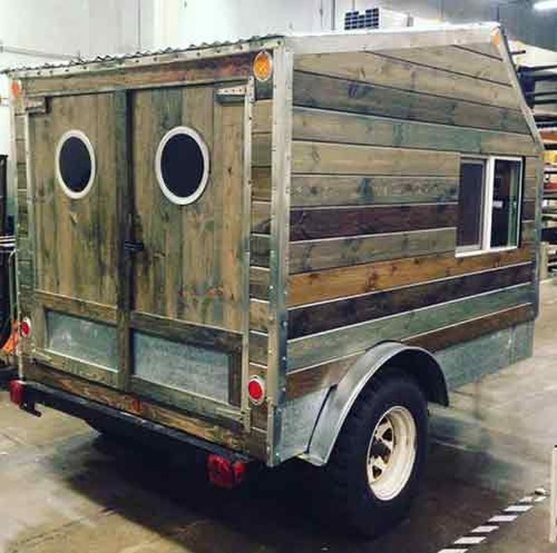 daniel s reclaimed diy zen den micro camper outdoors pinterest wohnwagen camping und. Black Bedroom Furniture Sets. Home Design Ideas