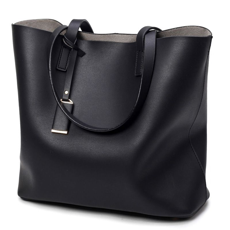 Photo of US $16.77 61% OFF|Luxury Handbags Women Bags Designer High Quality Leather Women Bag Black Big Solid Women Shoulder Bags Large Capacity Tote Bag|bag sealing machine manufacturers|bag moneybag feet – AliExpress