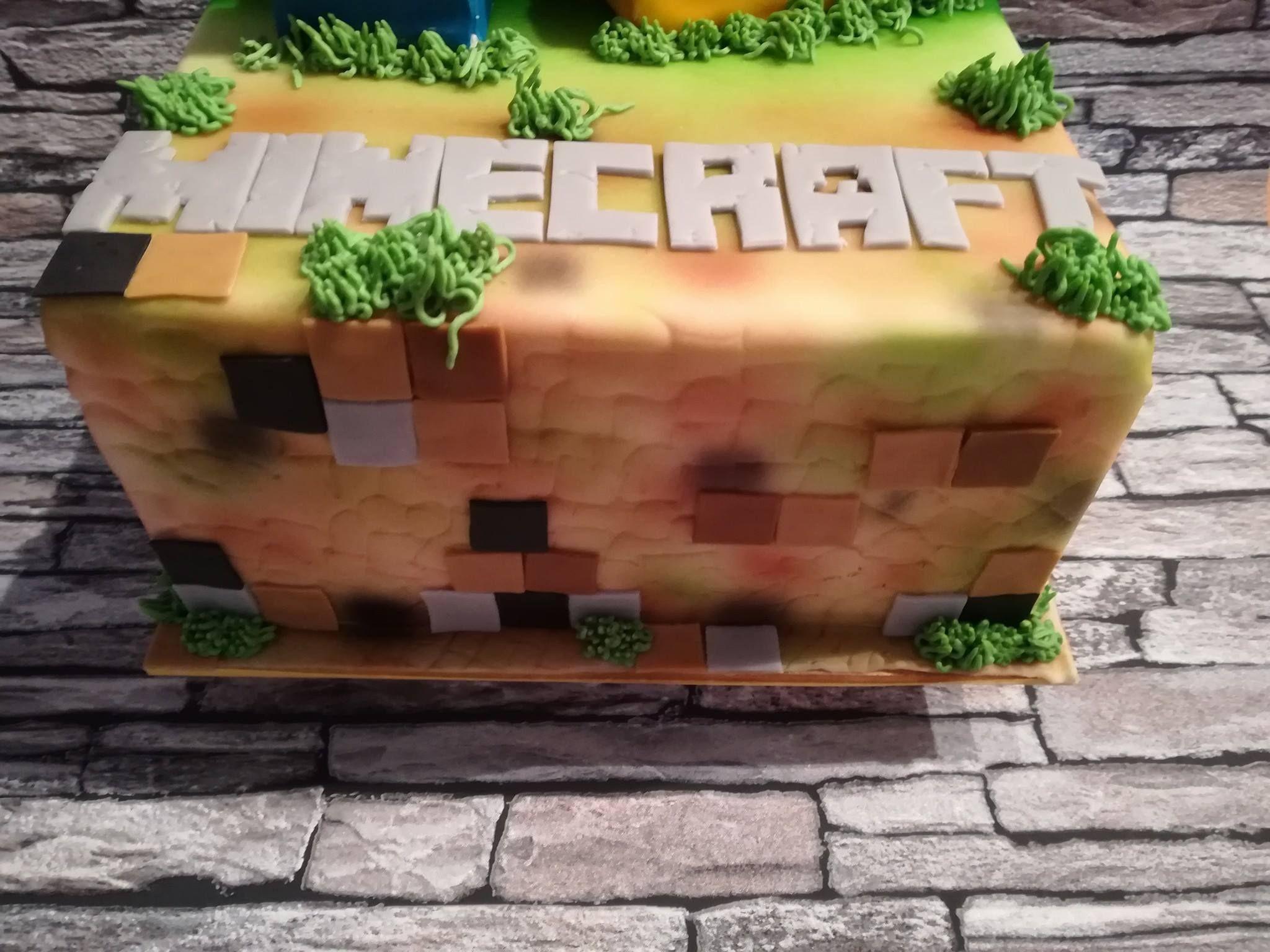 minecraft 2017 Taart
